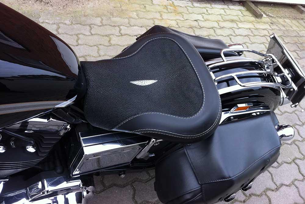 Motorradsitzbank Sattler Hamburg