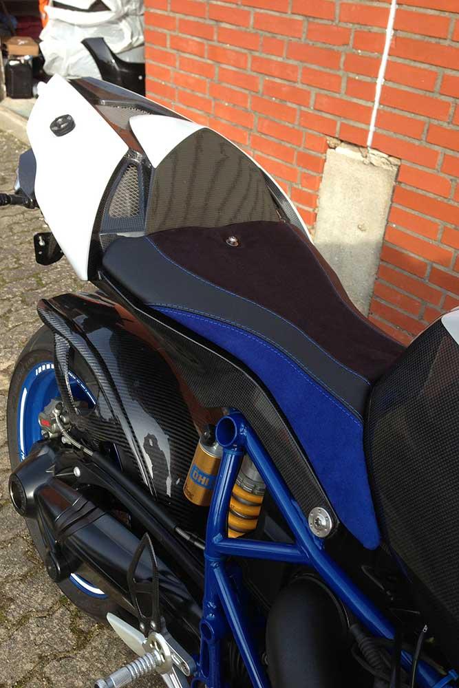 Motorradsitzbank beziehen Hamburg